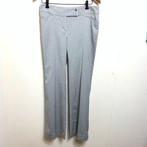 White House Black market Modern Boot pants gray 4R